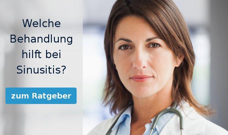 Welche Behandlung hilft bei Sinusitis?