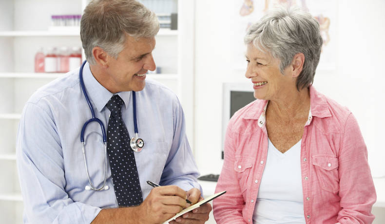Diagnose einer Nasennebenhöhlenentzündung